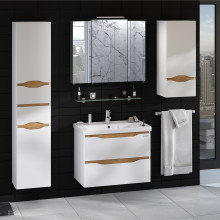 "Cabinet ""LIGA AIR"" 60 ins. messina with wash basin ""Kante"""