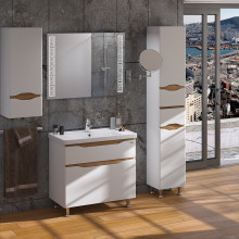 "Cabinet ""LIGA"" 60 ins. messina with wash basin ""Kante"""