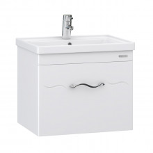 "Cabinet ""MINDAL AIR"" 60 white with wash basin ""Kante"""