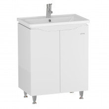"Cabinet ""SIMPLI"" 60 white with wash basin ""Kante"""